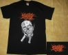 NO ONE GETS OUT ALIVE - Pitchfork Skull - T-Shirt size M