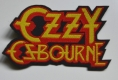 OZZY OSBOURNE - Logo - cutted woven Patch