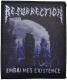 RESURRECTION -Logo- Gewebter Aufnäher