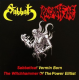 SABBAT / PAGANFIRE - split CD - Sabbatical Vermin Born - The Witchhammer Of The Power Elitist