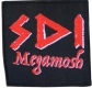 SDI - Megamosh Logo - woven Patch