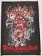 SLAYER - World Painted Blood - woven Patch
