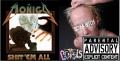 TxPxF PIGTAILS / MOÑIGO - split CD -
