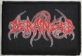 DERANGED - Logo - woven Patch