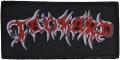 TANKARD - Logo - woven Patch